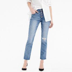 J crew vintage straight jeans size 31
